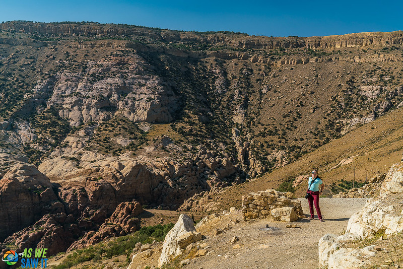 Dana Wadi at Dana Biosphere
