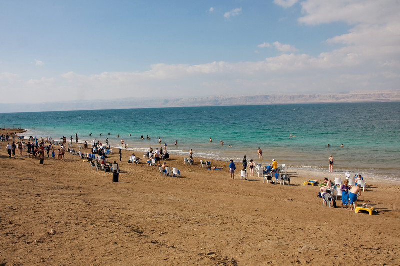 Amman Beach on a winter day