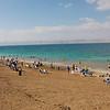 Amman Beach on a winter day