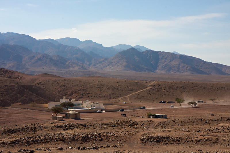 The school and mosque for the Bedouin community in Feynan