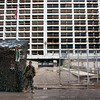 Holiday Inn - the epicenter of fighting during the civil war.  Occupied now by the Lebanese army.