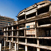 The crumbling 'egg' in downtown Beirut