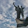 Martyr's Square - a statue that has stood the test of time and war