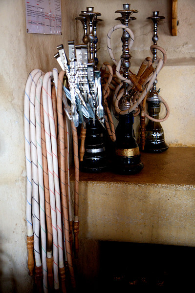 The hoses and pipes waiting to be beckoned
