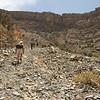 Hiking in the wadi