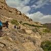Hiking on Jebel Akhdar