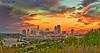 St. Paul Sunset, #0156