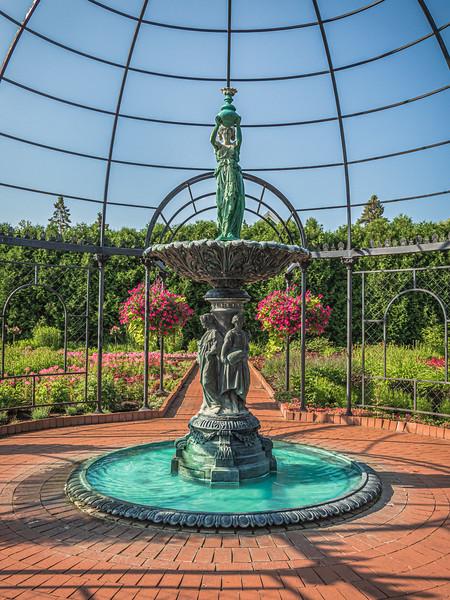 Fountain, Clemens Garden, Saint Cloud, Minnesota