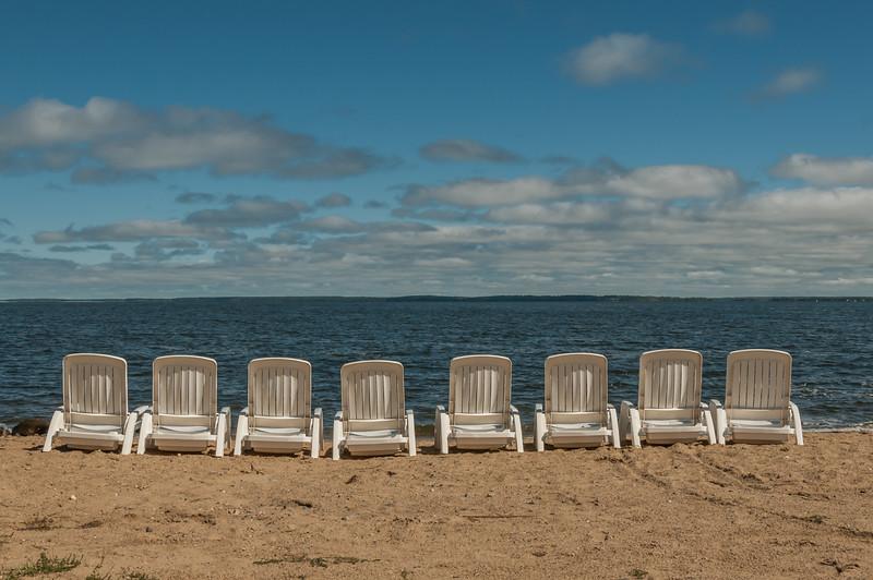 Summer's end at the lake
