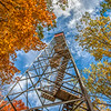 Fall at Mille Lac Kathio fire tower