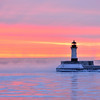 Duluth Harbor Light - Winter Sunrise