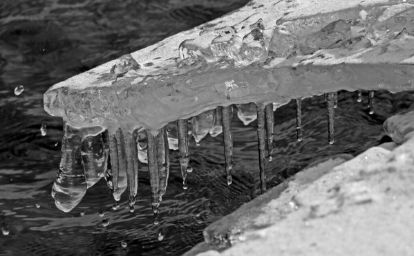 Ice on Lake Superior, #0177