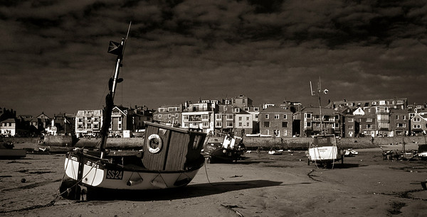 Low tide,  St Ives, Cornwall. England. 1999