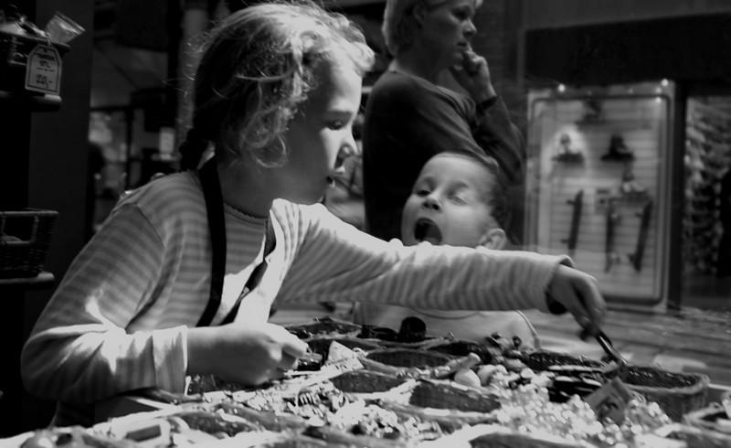 Girl in a Bakery, Copenhagen, Denmark, 2005.