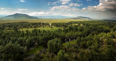 Mongolian steppe, Arkhangai Province, Mongolia, 2015