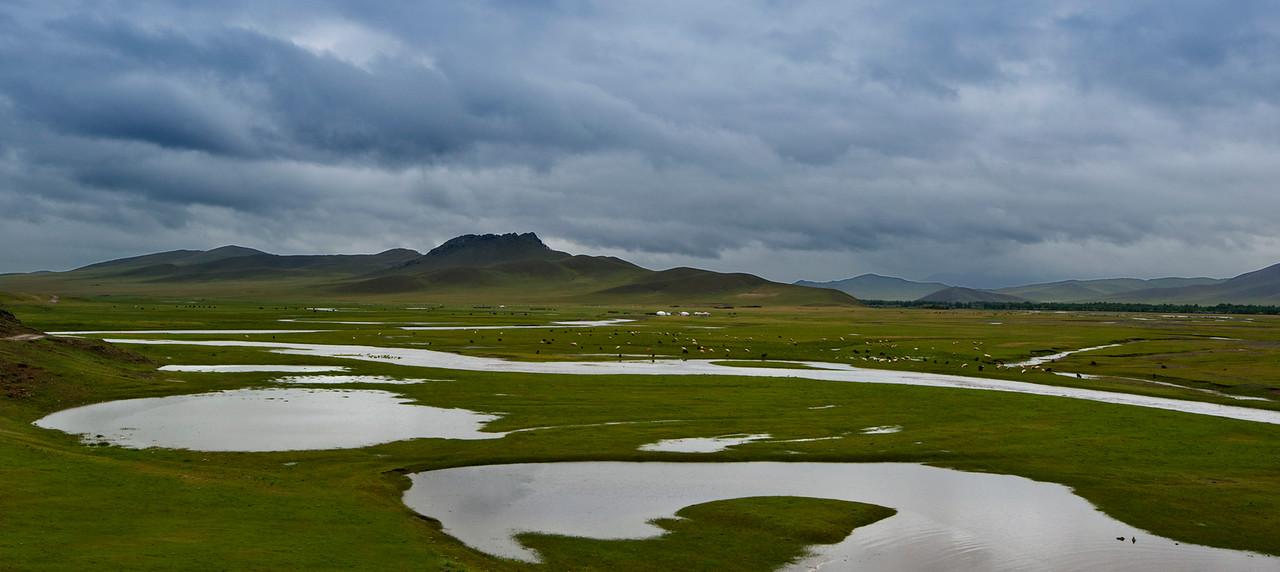 Mongolian steppe, Arkhangai Province, 2015.