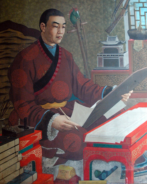 "The Danzanravjaa Museum was established in 1991 in honour of the fifth Goviin Dogshin Noyon Khutagt (""Terrible Noble Saint of the Gobi""), one of the greatest and most unusual intellectuals in Mongolian history. The museum preserves and displays Danzanravjaa's original artistic works and literary manuscripts, along with his books, religious items, theatrical costumes, personal possessions, and similar objects illustrating his life and work.<br /> <br /> The nineteenth century Lama Danzanravjaa was one of the most creative, colorful and enigmatic characters in Mongolian history. He was an accomplished artist, poet, scholar, playwright, songwriter, linguist, collector, traveler, martial artist, and herbal medic as well as Buddhist leader in the Gobi. He spent months at a time in prayer and creative solitude in caves or in his special ger, which, to avoid interruption, he had built without a door. At other times he was a hot-tempered, drunken party animal, organizing and participating in wild orgies at his temple. In his lifetime he was considered a living god and at his death a martyr. Today Mongolians are just discovering his full dimensions as after his death in 1856, Danzanravjaa's legend and surviving works went underground for 135 years."