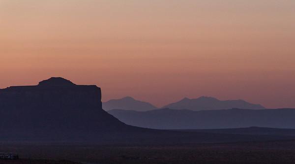 Olijeto Mesa in foreground.