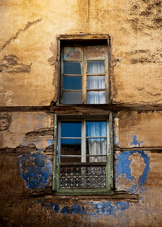 detail of a window in the Medina.  Fez el Bali, fez, Morocco,2010