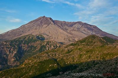 Sunrise on Mt. St. Helens, WA