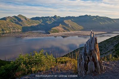 Spirit Lake, Mt. St. Helens, WA