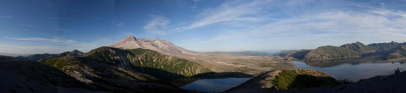 Mt St Helens / Spirit Lake pano