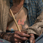Htein Yaung now 90 years old started smoking her pipe at the tender age of 15 as a way to keep insects at bay whilst working the fields. Htein has spend all of her working life growing corn, ...
