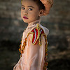 A young boy dressed up for the novice hood initiation. A very important ceremony.<br /> <br /> Myanmar 2017