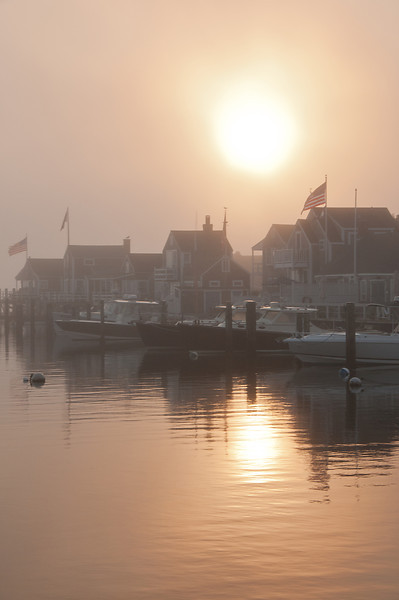 Nantucket Sunrise in the Fog