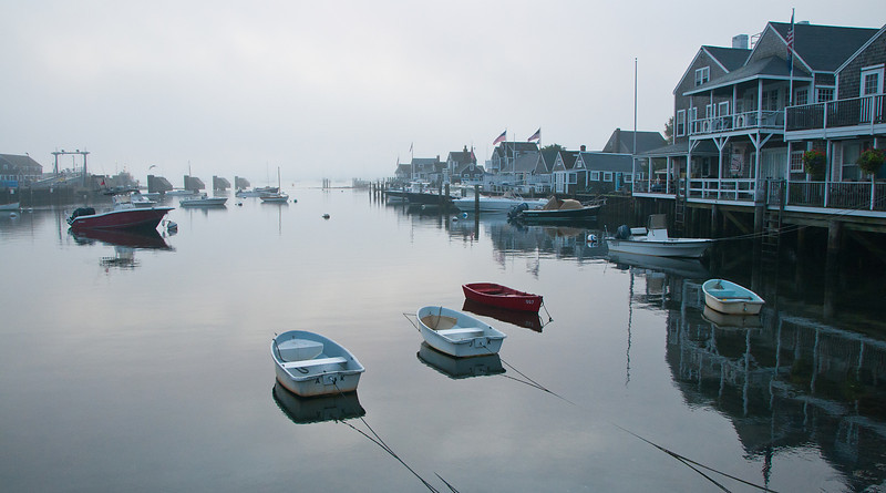 Nantucket Morning Fog 1