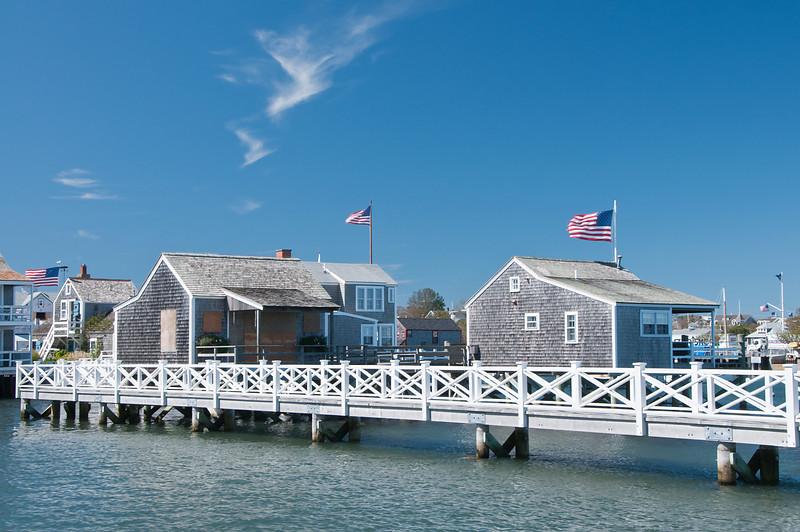 Walkway at Nantucket Harbor
