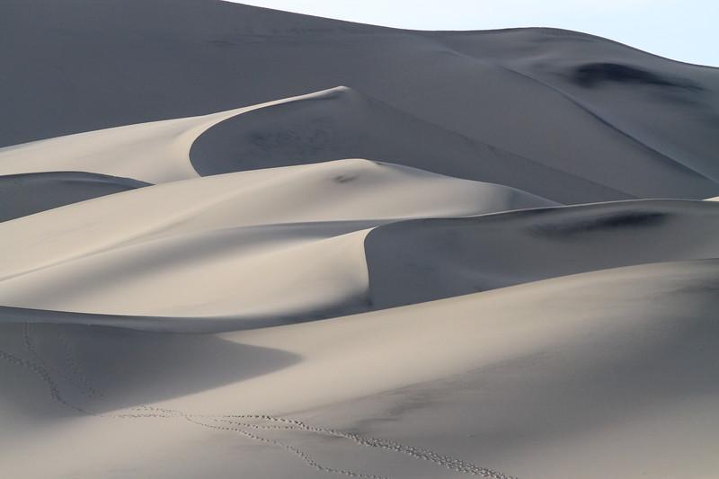 Eureka Dunes at sunrise, Death Valley, CA