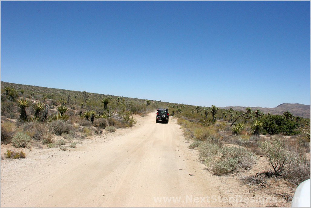 Exiting Berdoo Canyon, entering Paradise Valley from the south.
