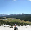 Panoramic shot from top of Pothole Dome at Tuolumne Meadows<br /> 9572 x 2431 pixels