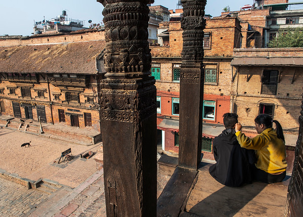 Bhaktapur It is the home of traditional art and architecture, historical monuments and craft work, magnificent windows, pottery and weaving industries, excellent temples, beautiful ponds, rich local customs, culture, religion, festivals and music. Bhaktapur is still an untouched as well as preserved ancient city.  Bhaktapur, Nepal, 2019