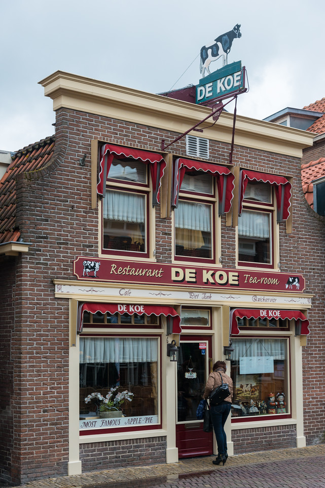 De Koe Tea Room at  Volendam, Netherlands near Amsterdam.