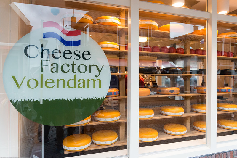 Cheese Factory Volendam, Netherlands near Amsterdam in Europe.
