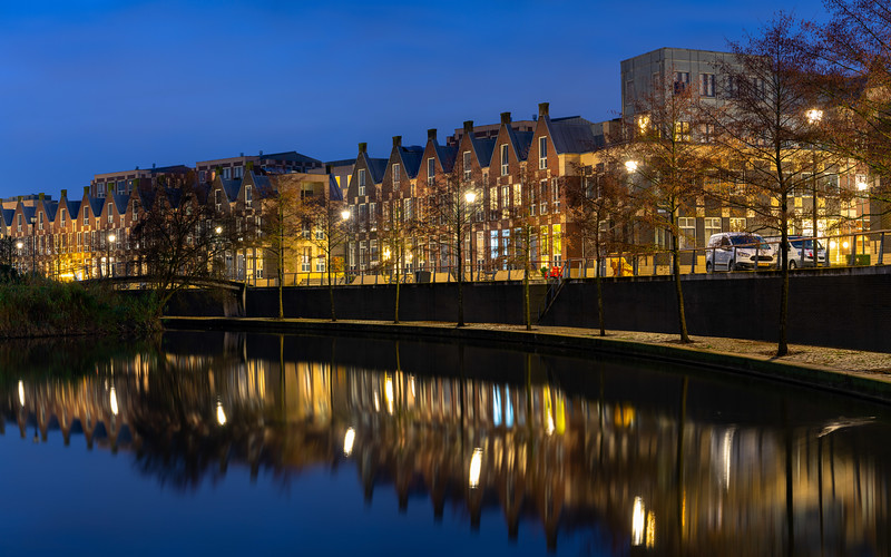 Blue hour in Doesburg