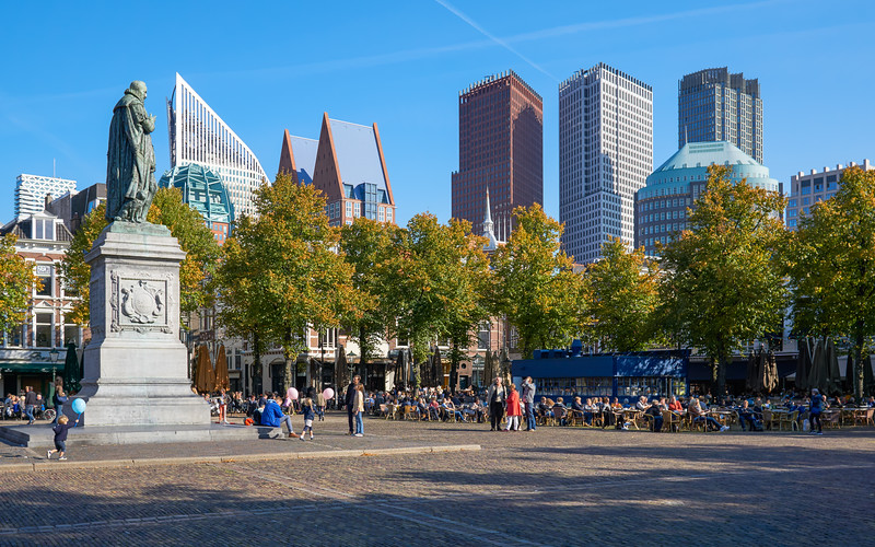 Autumn day in the city