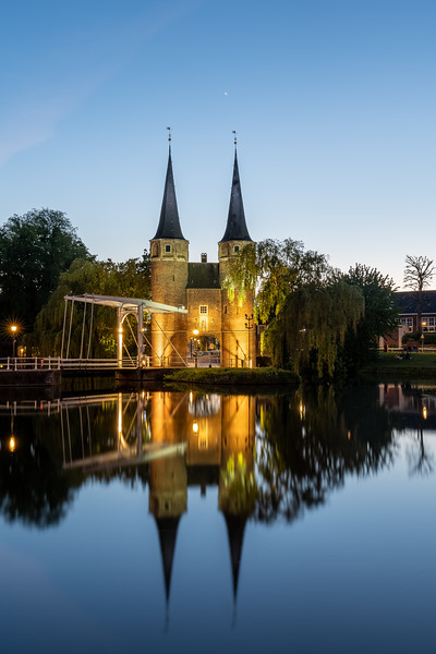 The Eastern Gate in Delft
