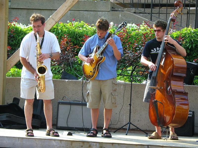 Street musicians, Charlottetown, PEI