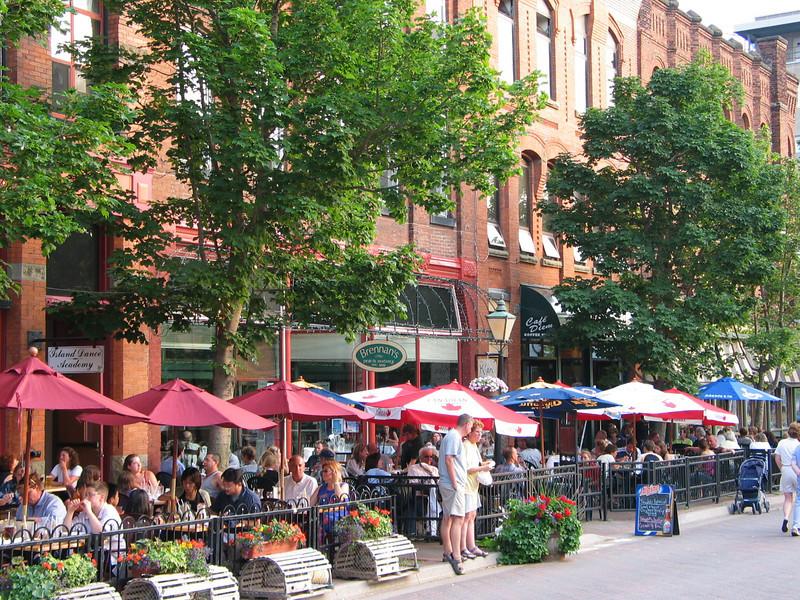 Street scene, Charlottetown, PEI
