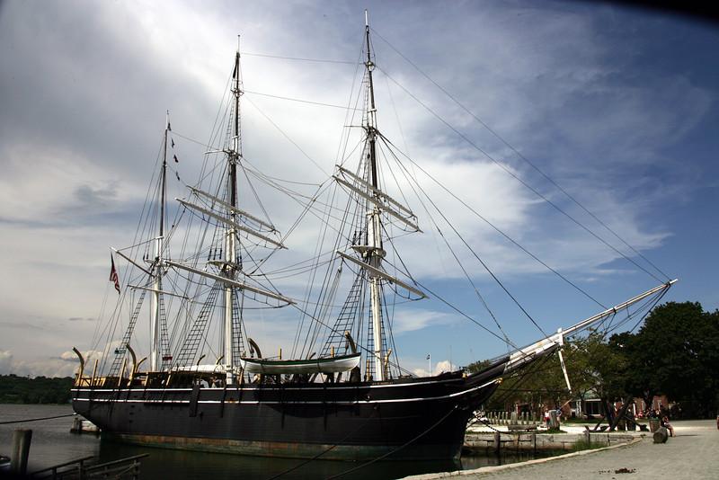 Whaler Charles W. Morgan