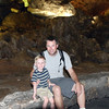 Kyle and I inside Carlsbad Cavern.