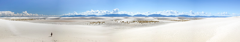 White Sands National Monument. Really, really cool.