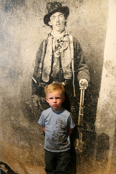 Kyle and Billy the Kid.