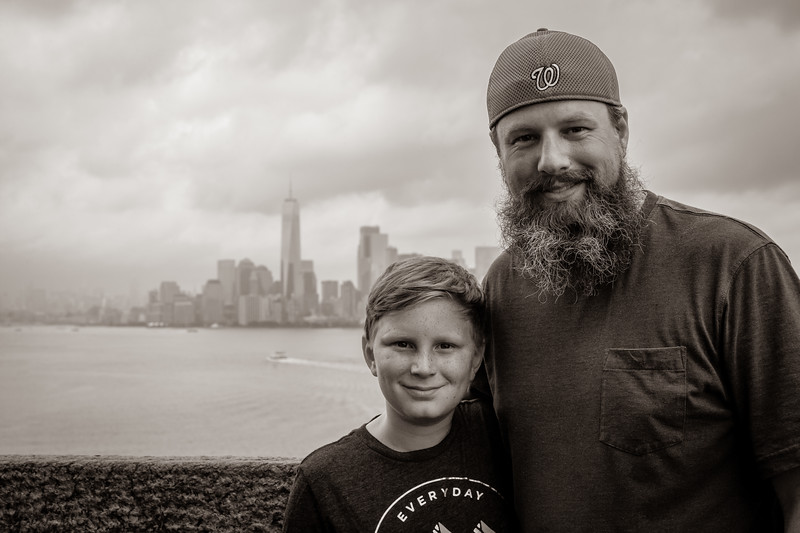 First trip to NYC for both of us! July 2018. Digital