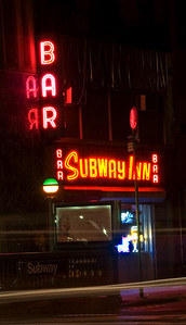 The Subway Bar - Neon.  Lexington Ave, Manhattan.