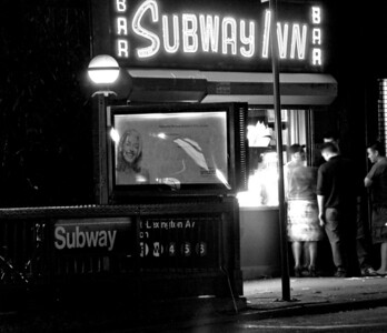 The Subway Bar.  Lexington Ave, Manhattan.