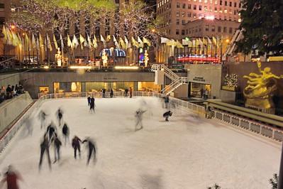 Rockefeller Center Skating